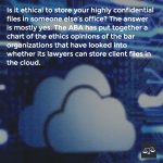 Can Lawyers Use The Cloud? Should Lawyers Use The Cloud?